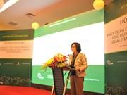 L'écologie urbaine au menu d'un colloque à Hung Yen