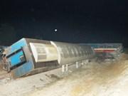 Collision entre un train et un camion : deux blessés sortent de l'hôpital