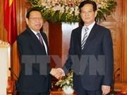 Le PM reçoit le ministre cambodgien du Plan