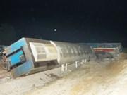 Collision entre un train et un camion à Quang Tri