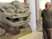 Exposition sur l'image du lion dans les sculptures antiques du Vietnam