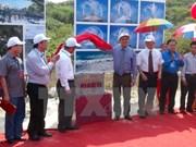 Pose de la première pierre du complexe commémoratif des soldats de Gac Ma