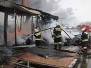 Aucun citoyen vietnamien n'est mort dans l'incendie à Kazan (Russie)