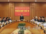 Réunion du Comité central de pilotage de la réforme judiciaire