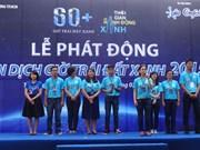 Coup d'envoi de la campagne Earth hour Blue à HCM-Ville