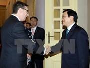 Le président Truong Tan Sang reçoit une délégation d'entreprises américaines