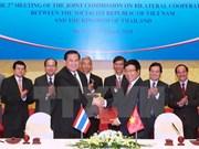 Vietnam et Thaïlande poussent leur partenariat stratégique