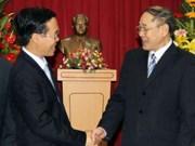 Fondation du PPRL : Ho Chi Minh-Ville félicite le Laos