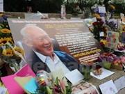 Singapour: deuil national d'une semaine pour l'ex-PM Lee Kuan Yew