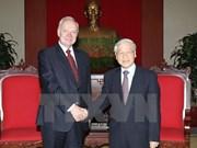 Le chef du PCV reçoit le nouvel ambassadeur russe