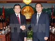 Vietnam-Laos : entretien entre les chefs d'Etat