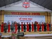 Ouverture de la Foire-expo internationale Vietbuild à Hanoi