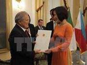 Le Vietnam et le Salvador promeuvent les relations d'amitié et de coopération