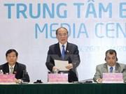 Hanoi : conférence de presse internationale sur l'IPU-132