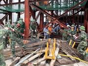 Ha Tinh: fin des opérations de sauvetage sur le chantier Formosa