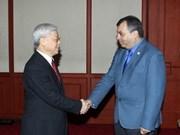 Le leader du PCV reçoit le président de l'UIP