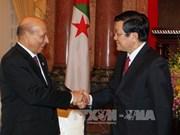 IPU-132: Truong Tan Sang reçoit les délégations parlementaires d'Algérie et du Soudan