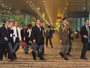 Le PM Nguyen Tan Dung assiste aux funérailles de Lee Kuan Yew