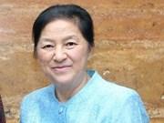 La présidente de l'AN laotienne en visite au Vietnam