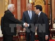 IPU-132: Des dirigeants vietnamiens reçoivent les hôtes hongrois