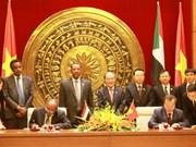 Le président de l'AN reçoit son homologue soudanais