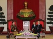 Vietnam-Cambodge: renforcement des relations entre le PCV et le PPC