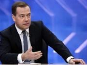 Le Premier ministre russe Dmitri Medvedev attendu au Vietnam