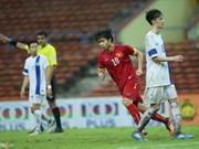 Le Vietnam s'est qualifié pour la coupe d'Asie U23 de football masculin