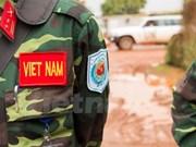Prochain départ de nouveaux officiers du Vietnam en mission de maintien de la paix