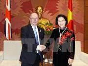 Un vice-président de l'AN reçoit des députés britanniques