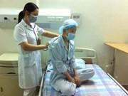 Greffe de cellules souches de sang de cordon conservées en banque