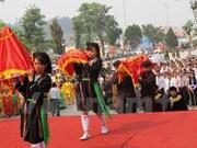 Ouverture de la fête de Tay Thien à Vinh Phuc