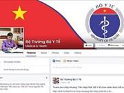 La ministre vietnamienne de la Santé est sur Facebook