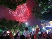 Hanoi tirera les feux d'artifice le 30 avril, jour de la Réunification nationale
