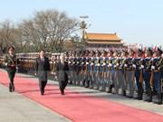 Entretien entre les leaders du PCV et du PCC
