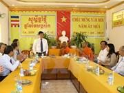 Félicitations aux Khmers à l'occasion du Chol Chnam Thmay