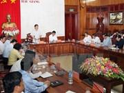 Le Premier ministre exhorte Hau Giang à valoriser ses atouts