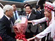Le leader du PCV rencontre les dirigeants du Yunnan