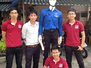 Première: un robot accompagnateur pour traverser la rue à Dà Nang