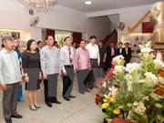 Activités du permanent du Secrétariat du CC du PCV Le Hong Anh au Laos