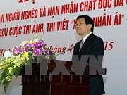 Le chef de l'Etat apprécie les activités philanthropiques de la Croix-Rouge