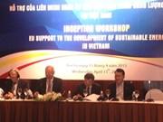 Energie durable : assistance européenne au Vietnam