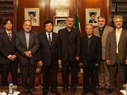 Une délégation de l'Académie des sciences sociales du Vietnam en Iran