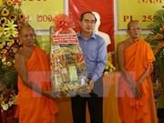 Félicitations aux Khmers à l'occasion du Tet Chol Chnam Thmay