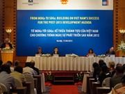 Le programme de développement pour l'après-2015 en débat