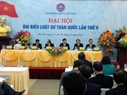 Le 2e congrès national des avocats s'ouvre à Hanoi