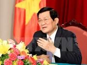 Le président Truong Tân Sang participera au Sommet afro-asiatique