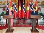 Communiqué commun Vietnam-Norvège