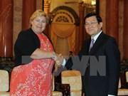 Vietnam et Norvège veulent approfondir leurs liens