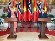 La visite de la Première ministre norvégienne couronnée de succès